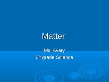 Matter Power Point