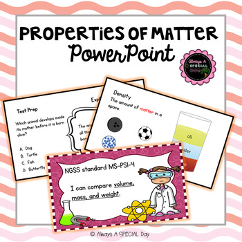 Properties of Matter: PowerPoint