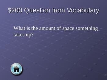 Matter Powerpoint Jeopardy