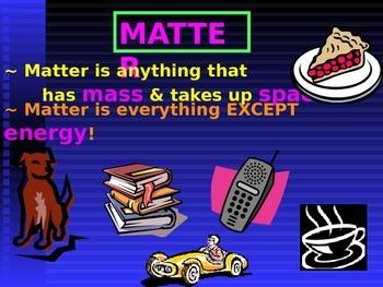 Matter Powerpoint
