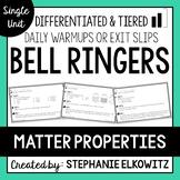 Matter Properties Bell Ringers