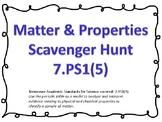 Matter & Properties Scavenger Hunt