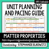 Matter Properties Unit Planning Guide