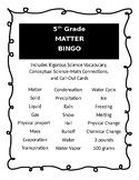 Matter: Properties and Change BINGO