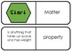 Matter: Properties and Changes (3.P.2.2) -- Vocabulary Dominoes