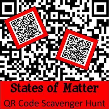 Matter QR Code Scavenger Hunt