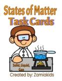 3 States of Matter Task Cards