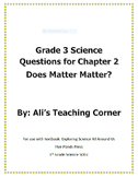 Matter Questions 3rd Grade VA Sols