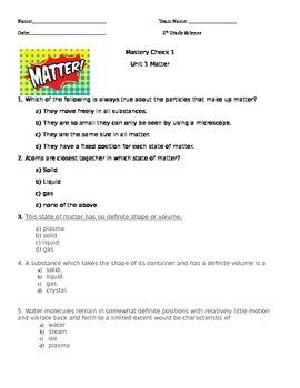 Matter Quiz