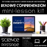 Energy Reading Comprehension Mini Lesson for Digital Classrooms