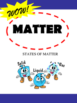 Matter:  Reading Comprehension and Graphic Organizer