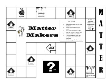 Matter Review Board Game