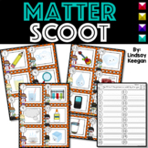 States of Matter SCOOT or Write the Room - Labeling Solid, Liquid and Gas