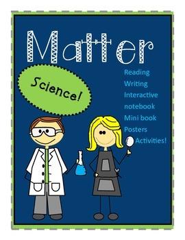 Matter (SOLID, LIQUID, & GAS) ESOL and K-5!!!