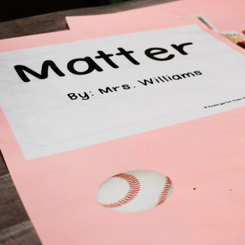 Matter: Science Big Book