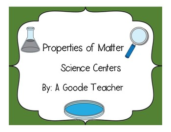 Matter Science Centers
