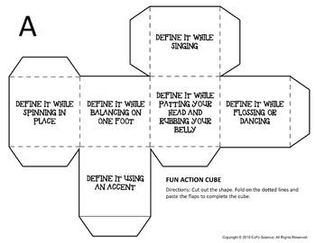Matter Science Cubes