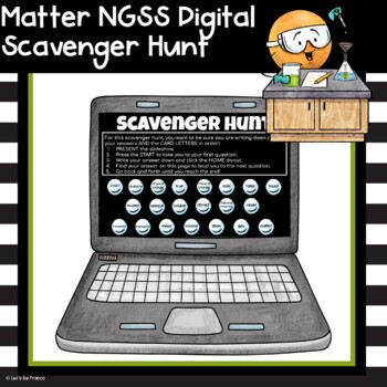 Matter Science Review Scavenger Hunt