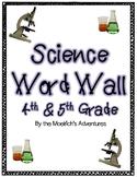 Science Word Wall - Virginia (SOL 4th grade & SOL 5th grade aligned)