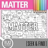 Matter Seek and Find Science Doodle Page