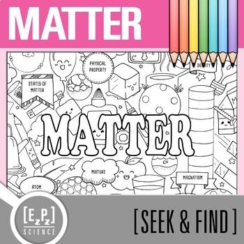 Matter Seek & Find Doodle Page