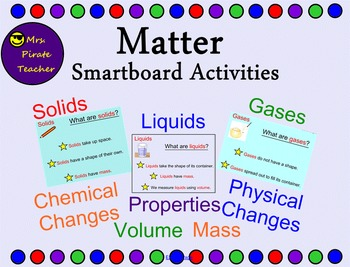 Matter Smartboard Lessons and Activities