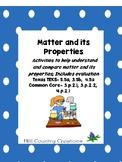 Matter: Solids, Liquids, Gases..Describe, Explore, Compare Lab,