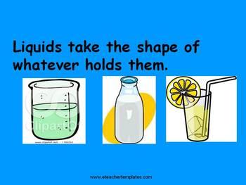 Matter - Solids, Liquids, and Gases