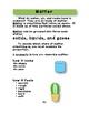 Matter:  Solids, Liquids, and Gases