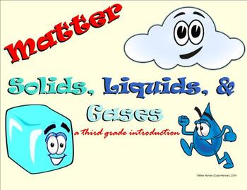 Matter - Solids, Liquids, and Gases - A Third Grade Introduction