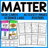 Matter Science Unit - Reading Passages, Labs, and Task Cards!  Distance Learning