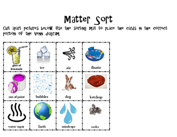 Matter Sort