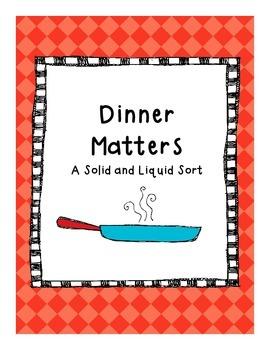 Matter Sort: Solids and Liquids