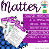 Matter: States of Matter, Changes, Mixture & Solutions Bundle