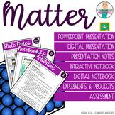 Matter: States of Matter, Changes, Mixture & Solutions Bundle