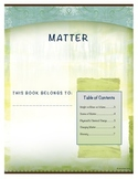 Matter Student Note Taking Booklet for Essential Standards