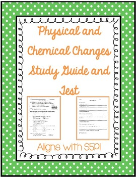 Matter Study Guide and Test