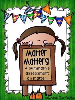 Matter Summative Assessment