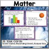 States of Matter and Its Interactions Fifth Grade Science