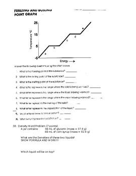 Matter Test 1