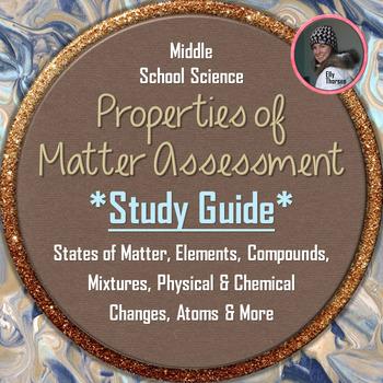 Properties of Matter Test Study Guide