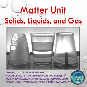 States of Matter Unit Kids Love!