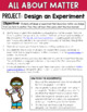 Matter Unit, Inquiry and Project-Based Learning