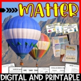 States of Matter & Physical and Chemical Changes Science Unit /Distance Learning