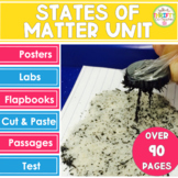 States of Matter Activities States of Matter Interactive Notebook Posters
