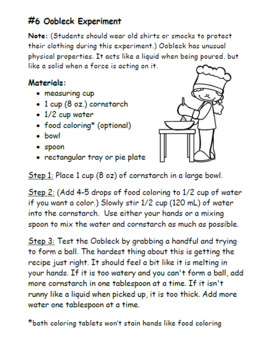 Matter Unit for Second Grade (NGSS)