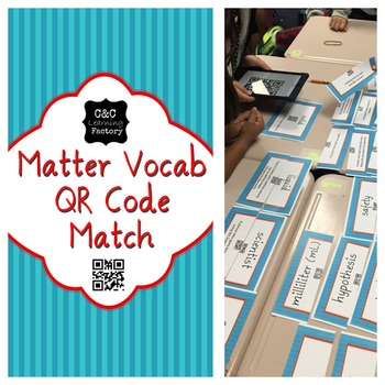 Matter Vocab QR Code Match