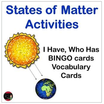 Matter Vocabulary Games