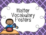 Matter Vocabulary Posters {Word Wall Printable}