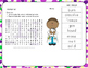 Matter Vocabulary Word Search and ABC Order